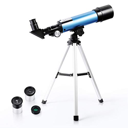 Astronomical Telescope for Kids 90X HD Zoom 360/50mm Refractor with Tripod for Beginners Childrens - Merkmak (Small 2)