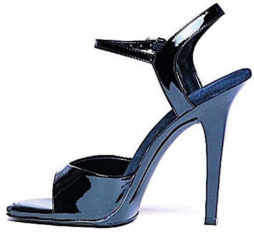 Ellie Shoes Women's 5 Inch Heel Sandal (Black;7)