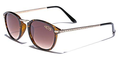 Retro Rewind Vintage 70s Mens Sunglasses Tortoise | Brown