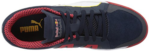 Puma Mens RBR Rider Walking Shoe Total Eclipse/Puma White/Chinese Red