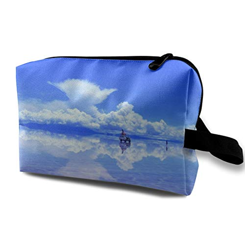 - Pinkipory Travel Cosmetic Bag Portable Handbag Glamour Clouds Toiletry Pouch Small Makeup Bags Case Organizer
