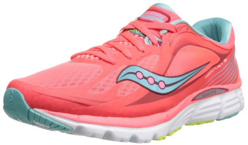 Saucony Women's Kinvara 5 Running Shoe,Vizicoral/Blue,9.5 M US