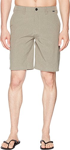 Slim Fit Walkshort - Hurley Men's Phantom Hybrid Walkshorts Dark Stucco 34 20