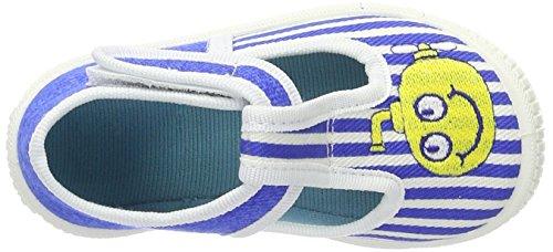 Superfit Bully - Zapatillas de casa Niños Blau (bluet Kombi)
