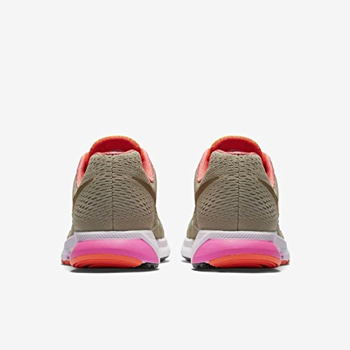 Nike W Air Zoom Pegasus 33 Rc - Zapatillas de running Mujer Verde (Ntrl Olv / Mlt Grn-Ttl Orng-Ttl)