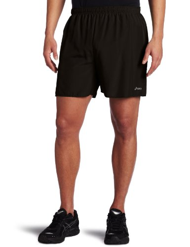 Asics Men's Core Short, Black, (Asics Core Running Short)