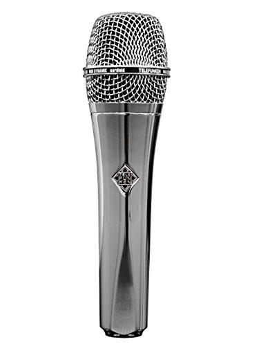 Telefunken USA Custom Shop M80 Chrome Dynamic Microphone by Telefunken
