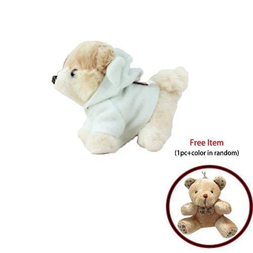 13cm/5.1in Small Dog Cloth Doll Pet Dog Cute Plush Toys Birthday Gift