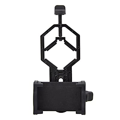 Cellphone Adapter Mount, Spotting Scope Cellphone Adapter Mount for Rifle Scope, Camera, Digiscoping Binocular, Telescope, Microscope, Monocular