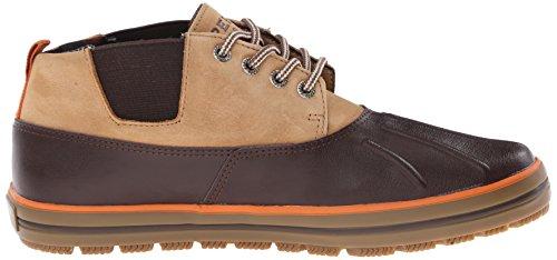 Sperry Fowl Weather De cuero para hombre Chukka Botas / Zapatos Brown