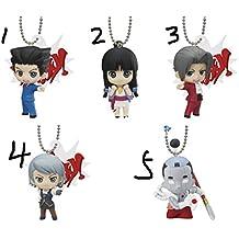 Naruhodo Ryuichi Ace Attorney Phoenix Wright anime Figure Strap Gyakuten Saiban (5)