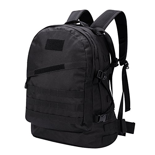 Gonex Military Tactical Backpack Waterproof Classical Assault Pack Backpack/Rucksack, Molle Bug Out Bag for Outdoor Hiking Camping Trekking Hunting 45L