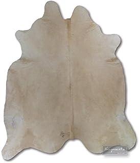 cowhide charloais cream white rug skin