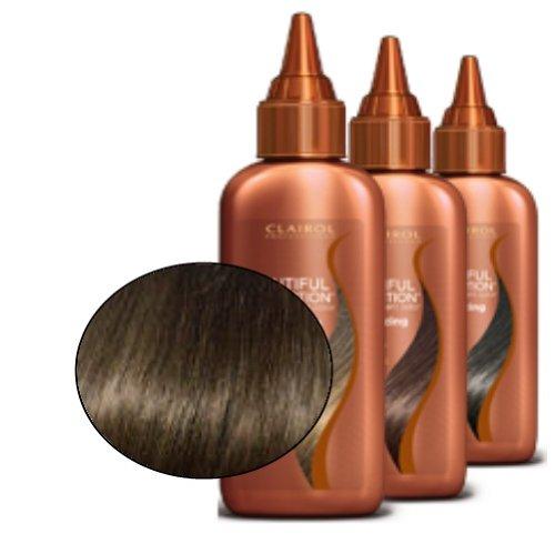 Clairol Professional Collection Belle semi-permanent Couleur des cheveux, Darkest Brown