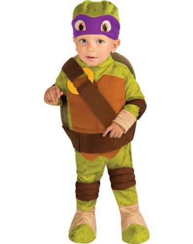 Teenage Mutant Ninja Turtle Donatello Toddler Costume 1-2 years Halloween Costume]()