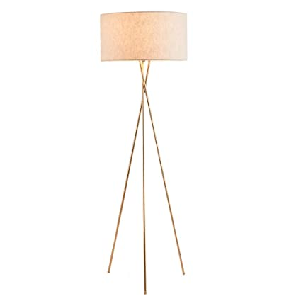 LED Floor Lamps, Modern Iron Three-legged Floor Table Light ...