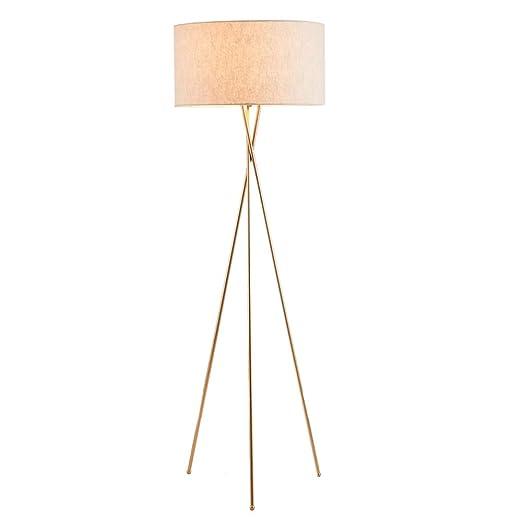 Lámparas de pie LED nórdicas, hierro moderno simple, tres ...