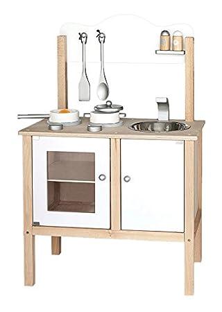 Viga - Cocina de juguete de madera y dimensiones 54 x 83.5 x 30 cm ...