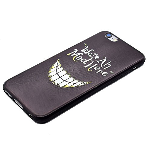 "HYAIT® For IPHONE 6 PLUS 5.5"" [XXG BLACK V2]Scratch-Proof Ultra Thin Rubber Gel TPU Soft Silicone Bumper Case Cover -BKI06"