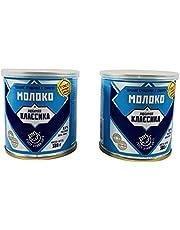 Russian Condensed Milk Dessert With Sugar (Sgushyonka- Lyubimaya Klassika) Imported Sweets (2-Pack)