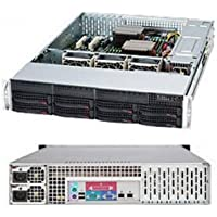 SUPERMICRO CSE-825TQ-R740LPB / Supermicro SuperChassis CSE-825TQ-R740LPB 740W 2U Rackmount Server Chassis (Black)