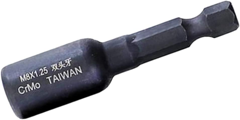 FLAMEER Broca Portabrocas Sin Llave De Cambio R/ápido Convertidor de Adaptador De Vastago Hexagonal M10 X 1.5 A