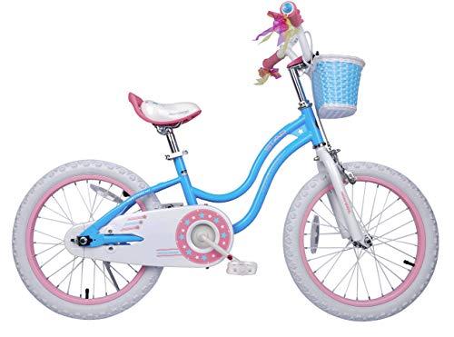 Royalbaby Stargirl Girls Bike, 18 inch Wheels, Pink