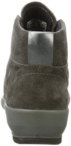 Legero Alto a Donna 94 Stone Sneaker Grigio Collo Olbia Twaqr6T