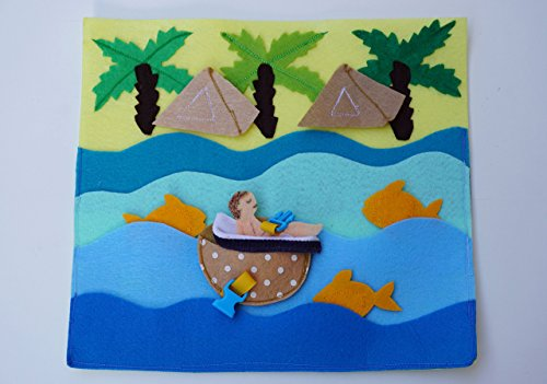 Jewish Holidays- Pesach- Passover- Quiet Book Page / Activity Page / Birthday Gift For Toddlers /