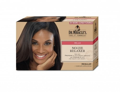 Dr. Miracle's Feel It Formula Thermalceutical Intensive No-lye Relaxer, Regular Dr. Miracles 26023