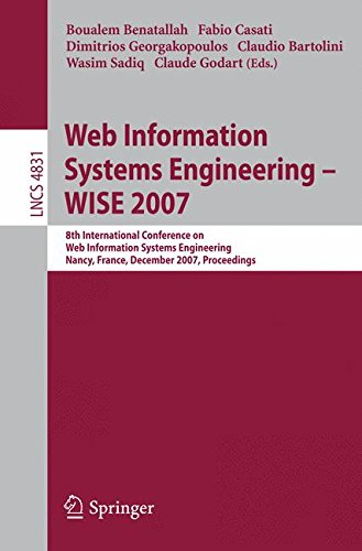 Web Information Systems Engineering – WISE 2007: 8th International Conference on Web Information Systems Engineering, Na