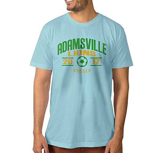 adamsville-elementary-school-lions-soccer-2017-mens-cotton-t-shirt-skyblue