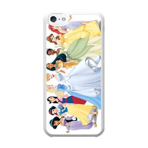 Coque,Coque iphone 5C Case Coque, Princess Bride Cover For Coque iphone 5C Cell Phone Case Cover blanc