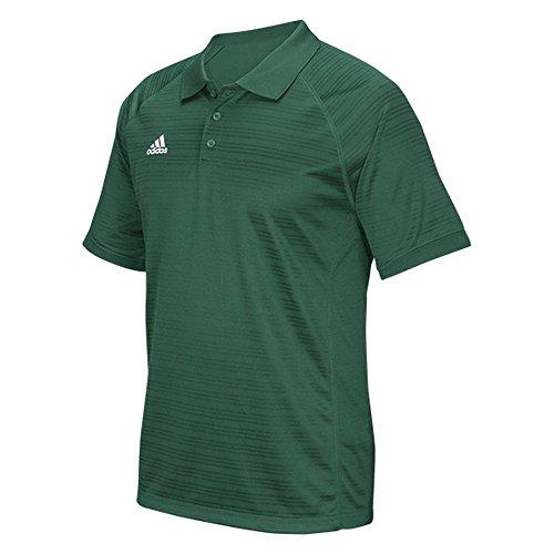 Adidas Mens ClimaLite Select Polo - Dark Green - Medium