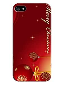 custom phone accessory for iphone 5/5s TPU phone Plastic fashionable Case 2014 Merry Christmas New Style