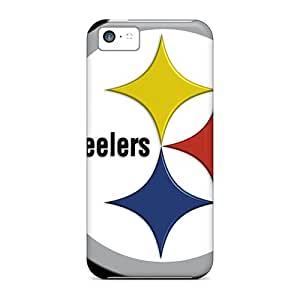 Fashion Tpu Case For Iphone 5c- Pittsburgh Steelers Defender Case Cover