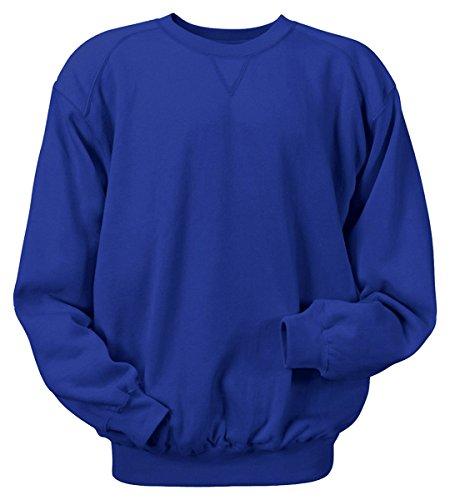 Badger Sportswear Men's Blend CrewNeck SweatShirt, royal, ()