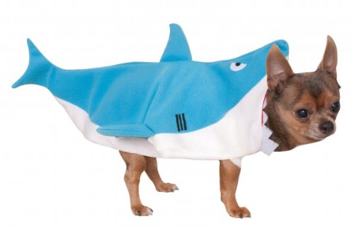 Pet Shark Costumes (Rubie's Shark Pet Costume,)