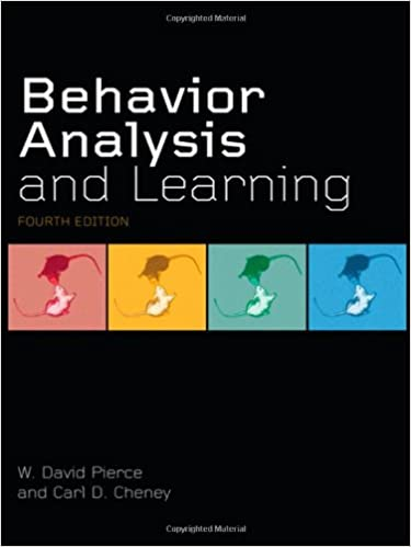 AmazonCom Behavior Analysis And Learning Fourth Edition