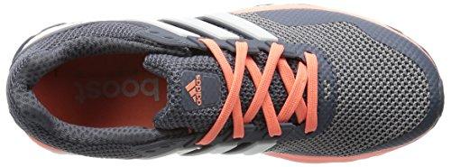 adidas Response 2 W, Zapatillas de Running para Mujer Gris / Blanco / Rojo (Gris / Ftwbla / Brisol)