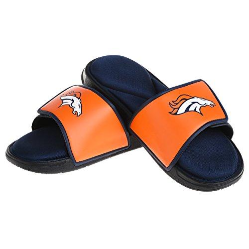 Denver Broncos NFL Mens Foam Sport Slide - M