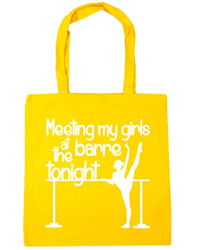 42cm Tote Tonight My x38cm Meeting Yellow at Bag 10 Barre the litres Beach Gym Shopping Girls HippoWarehouse wqTCUxn7w