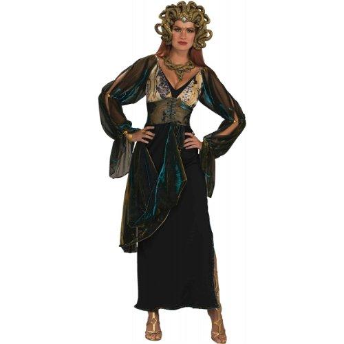 Forum Novelties Women's Medusa Greek Goddess Costume, Multicolor, (Halloween Medusa)