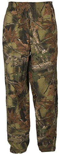 TrailCrest Boys Open Bottom Cotton Blend Cozy Sweatpants with 3 Pockets Yoga Lounge Hunting
