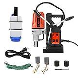 Metal Magnetic Drill, 110V Dia.12-Dia.40 Metal Drill High Power Multi-Function Magnetic Drill Metal Drill Press (US plug)