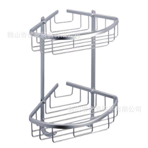 Tungchilan Stainless Steel Double Triangle Basket Rack Multifunctional Storage Box