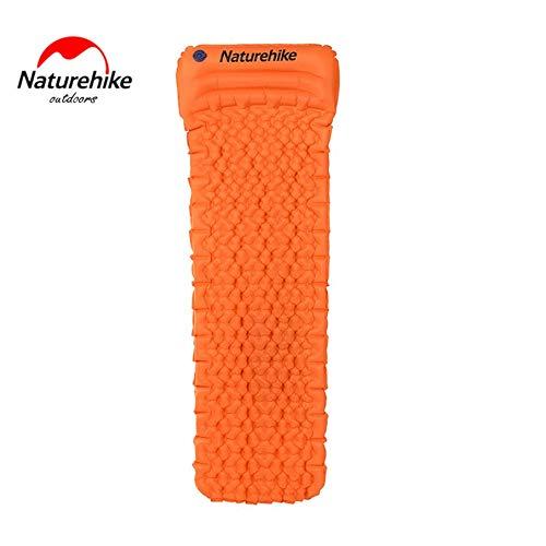 KNOSSOS Naturehike TPU Inflatable Cushion Ultra Lightweight Sleeping Pad Outdoor Tent - Sun arancia