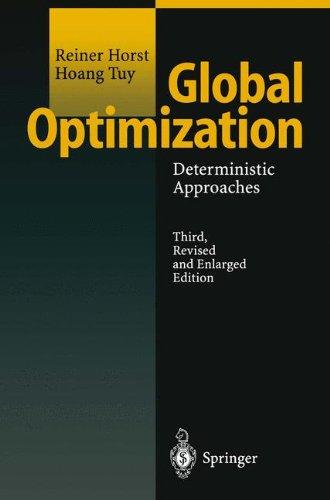 Download Global Optimization: Deterministic Approaches pdf epub