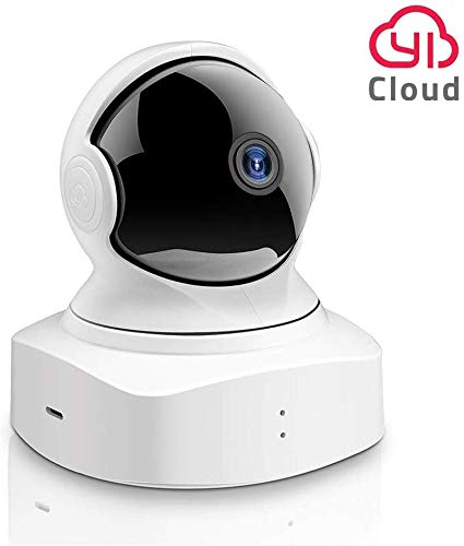 YI Cloud Home Camera, 1080P HD Wireless IP Security Camera Pan/Tilt/Zoom Indoor Surveillance System with Night Vision, Motion Detection and Crying Detection, Remote Camera with iOS, Android App