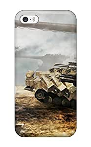 Awesome Armored Core 5 Flip Case With Fashion Design For Iphone 5/5s